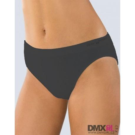 GINA bezešvé kalhotky černé Pure 18