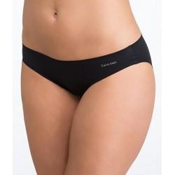 CALVIN KLEIN luxusní dámské černé kalhotky Bikini F3843
