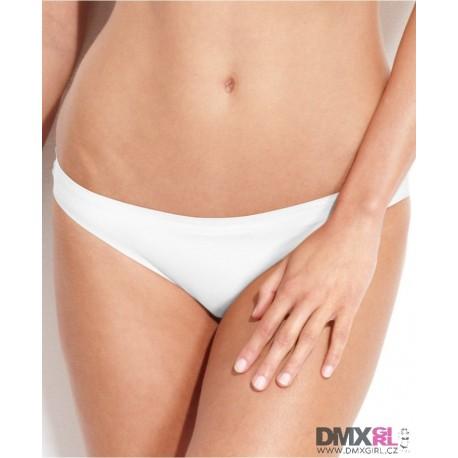 CALVIN KLEIN luxusní dámské bílé kalhotky Bikini F3843