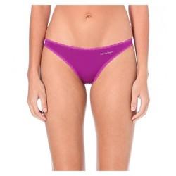 CALVIN KLEIN růžové dámské kalhotky Bikini F2911