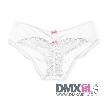 Victoria's Secret nové Heart Lace Ruched-back Hiphugger Panty