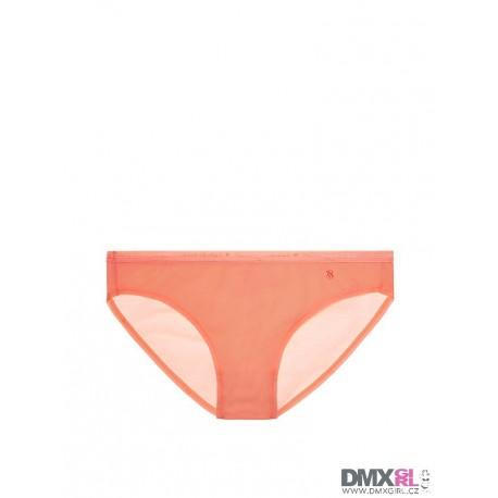 Victoria's Secret krásné Bikini panty v oranžové barvě